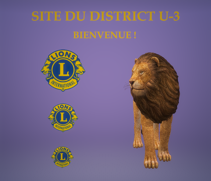 Site Lions du District U-3